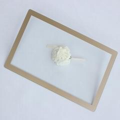 定制 1mm触摸屏防护玻璃 工业屏幕保护玻璃