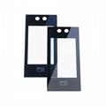 定製各種門瑣蓋板玻璃 讀卡電器裝飾面板玻璃 3