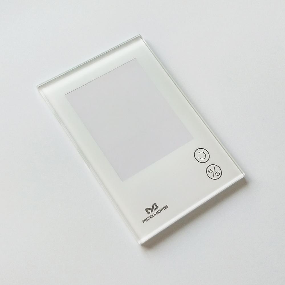 东莞代工 3mm 4mm 电器开关保护玻璃 2