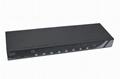 顥亞8進1出8口DVI機架式USB KVM切換器 2