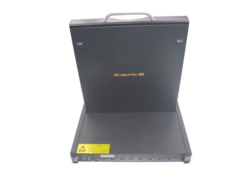 顥亞19寸機架式8端口LCD KVM控制台 4