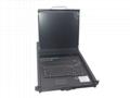顥亞19寸機架式8端口LCD KVM控制台 5