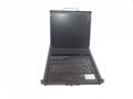 顥亞19寸機架式16端口折疊抽拉式液晶LCD KVM控制平台 3