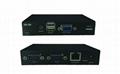 颢亚100米USB KVM延长器支持触摸屏显示器无线键盘鼠标音频麦克风 1