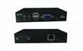 颢亚100米USB KVM延长器支持触摸屏显示器无线键盘鼠标音频麦克风 3