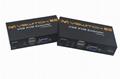 顥亞100米USB KVM延長器支持觸摸屏顯示器無線鍵盤鼠標音頻麥克風 4