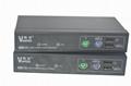 颢亚300米PS/2+USB混接KVM延长器支持无线键盘鼠标 4