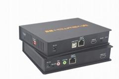 颢亚200米HDMI高清 KVM矩阵延长器