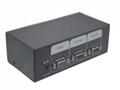 顥亞2進1出USB+PS/2雙介面2口混接KVM切換器 2