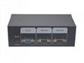顥亞2進1出USB+PS/2雙介面2口混接KVM切換器 4