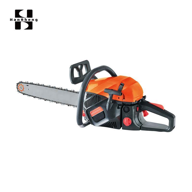 Hansheng Tools Professional 43/52/58cc Gasoline Powered Chainsaw 1