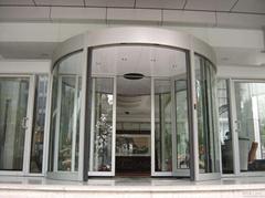 Automatic Revolving Door