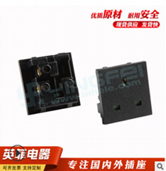 热销推荐英式插座三插插座多功能接线插座桌面插座卡位电源插座