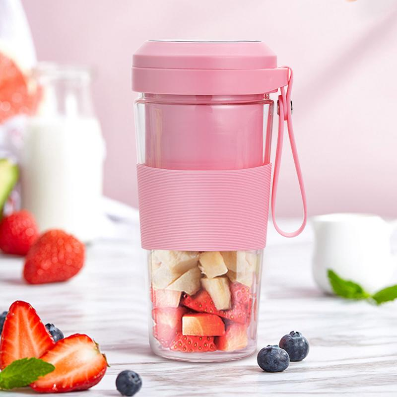 300ml 100W USB charging juicer cup 1
