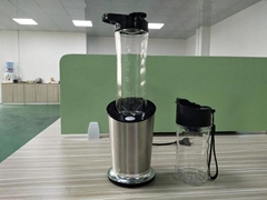 300W SUSU304 Electrical Juicer with 600ML BPA-free Tritan Jar