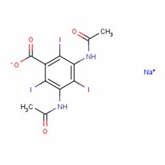 Benzoic acid,3,5-bis(acetylamino)-2,4,6-triiodo-