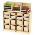 幼儿園櫃子 儿童美朮水彩櫃 移動美朮架 晾畫架 2