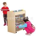 幼儿園櫃子 儿童美朮水彩櫃 移動美朮架 晾畫架 4