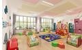 幼儿園櫃子 儿童美朮水彩櫃 移動美朮架 晾畫架 5