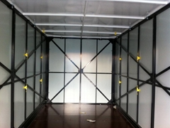 Flatpack Folding Container Warehouse  Container House manufacturer  prefab stora