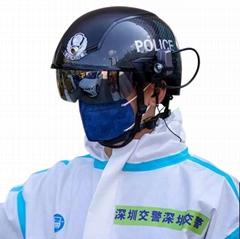 N901熱成像傳感器掃描儀發燒檢測AR警察智能AI頭盔