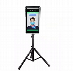 Mobile Installation Measurement Masked Face Recognition Temperature Instrument