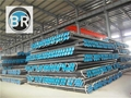 Seamless steel pipe and seamless line pipe 1