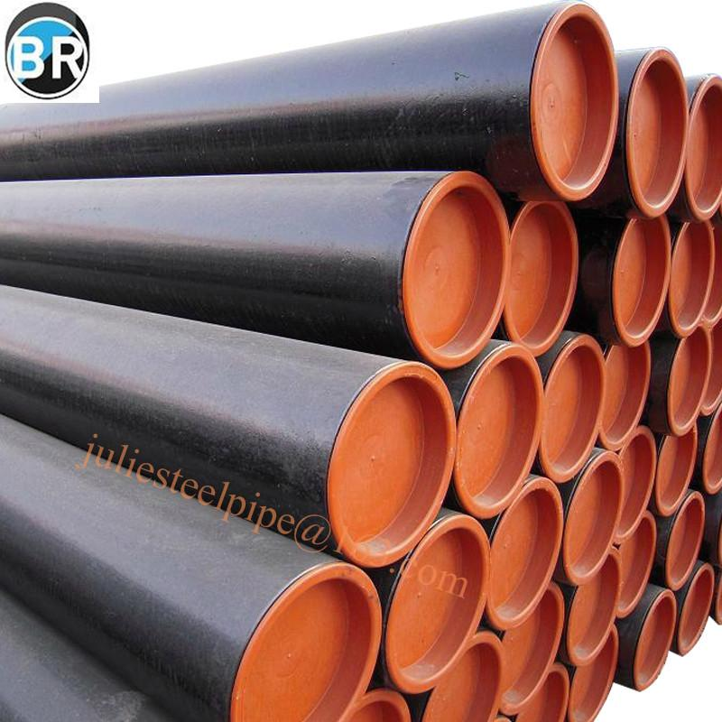 Seamless steel pipe and seamless line pipe 2