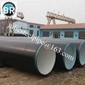 2PE / 3PE anti-corrosion steel pipe