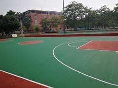 懸浮地板籃球場