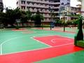 彈性丙烯酸籃球場