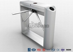 Stainless Steel Tripod Barrier Gate With RFID Card