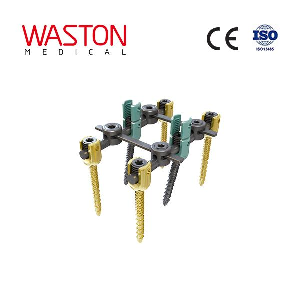 Master 10 Spinal System Fracture Orthopedic Implants Minimally Invasive
