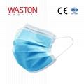surgical face mask /EN14683/CE/SGS/White Blue