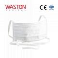 surgical face mask tie/EN14683/CE/SGS/White color