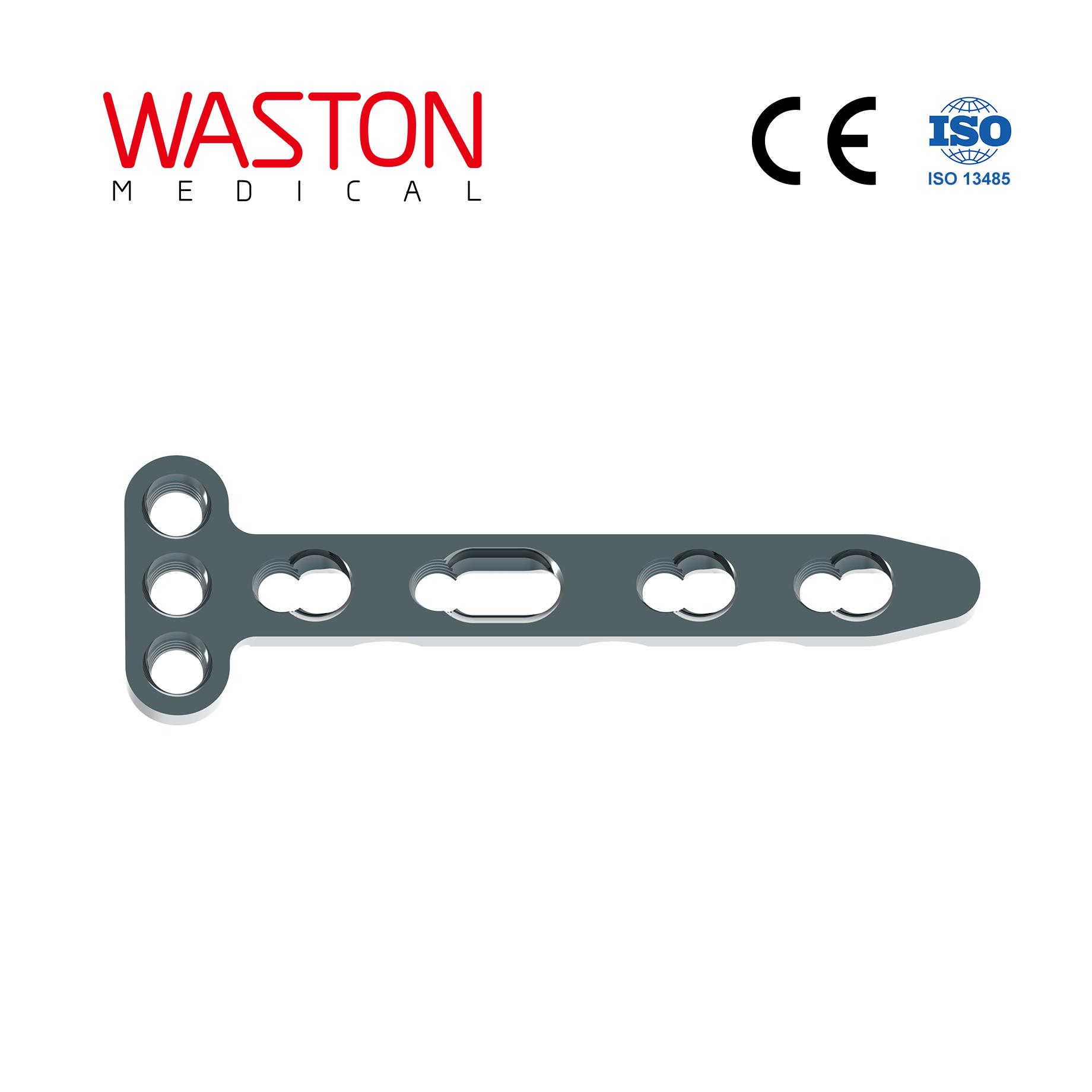 T-shaped Distal Radius Dorsal Locking Plate Orthopedic Implants