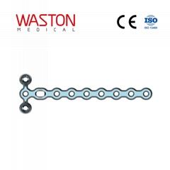 1.5 微T型鎖定加壓接骨板(頭3孔)鎖定板 骨科 植入物 微型 接骨板