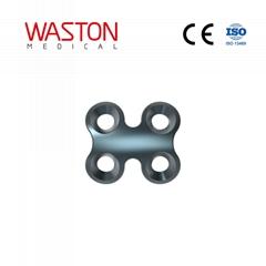 2.0 Rectangular Grille Plate LOC Locked Bone Graft Miniature Orthopedic Implants