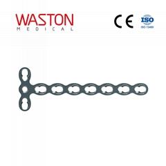 2.0 微T型鎖定加壓接骨板(頭3孔)鎖定板 骨科 植入物 微型 接骨板