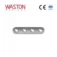 Straight Phalange Plates CE Fracture Orthopedic Implants Trauma Mini Placa