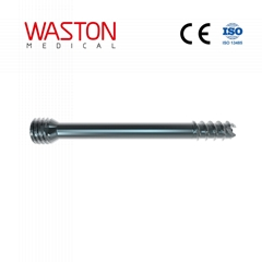 Headless Cannuated Compression Screw Implants Hollow Orthopaedics Tornillo