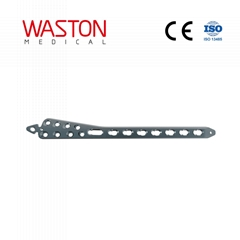 Distal Medial Tibial Locking Plate II Orthopedic Implants Pure Titanium