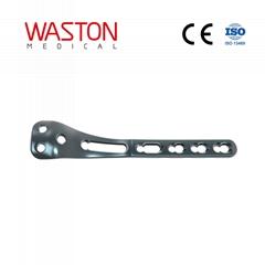 Proximal Posterior Medial Tibial Locking Plate Orthopedic Implants Pure Titanium
