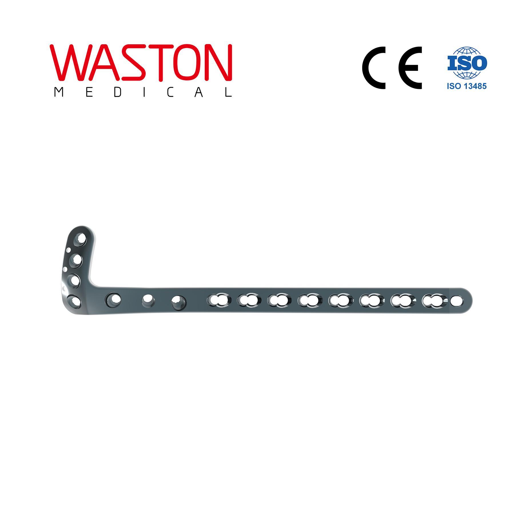 3.5mm/5mm L-buttress Locking Plate Orthopedic Implants Pure Titanium