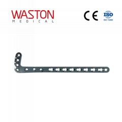 3.5mm/5mm L型锁定接骨板(左/右) ISO 骨科 植入物 创伤 纯钛
