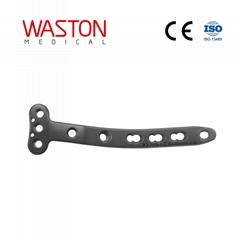 3.5mm/5.0mm T型鎖定接骨板(左/右)ISO 骨科 植入物 創傷 純鈦