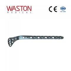 3.5mm胫骨近端外侧(围关节)锁定接骨板III型(左/右)ISO 骨科 植入物 创伤 纯钛
