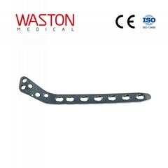 5.0mm胫骨近段外侧锁定接骨板(左/右)ISO 骨科 植入物 创伤 纯钛