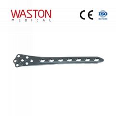 Distal Lateral Femoral (Condylar) LOC Plate Orthopedic Implants Pure Titanium