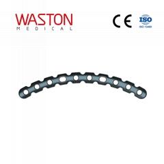 弧形重建锁定接骨板 骨科 植入物 纯钛 锁定板 创伤